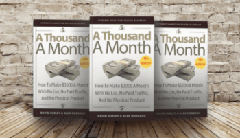 4th edition of A Thousand A Month, by David Hurley and Alex Nordach
